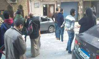 الإسكندرية.. إصابة عروسين انهارت بهما شرفة شقتهما