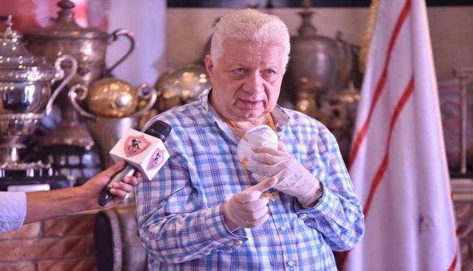 مرتضى منصور يعلق على الفيديو المنتشر له: لم أسب الخطيب