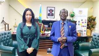 نائب رئيس جنوب السودان: مصر تشهد نهضة غير مسبوقة