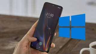 OnePlus 6T.. أحدث هاتف ذكي يعمل بنظام Windows 11 (فيديو)