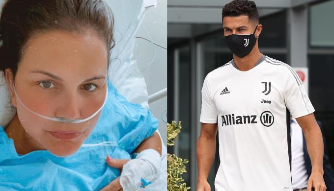 تدهور الحالة الصحية لكاتيا أفيرو شقيقة كريستيانو رونالدو بسبب مضاعفات فيروس كورونا