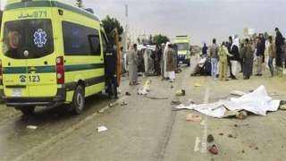 ارتفاع ضحايا حادث الطريق الأوسطى لـ5 وفيات
